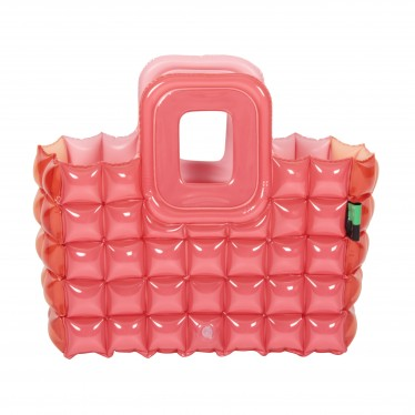 INFLATABLE SHOPPING BASKET DUO RETRO