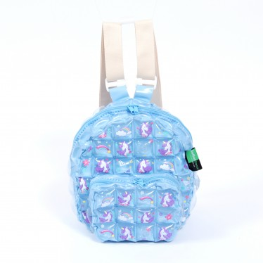 INFLATABLE BACKPACK OVAL SHAPE UNICORN SWEET