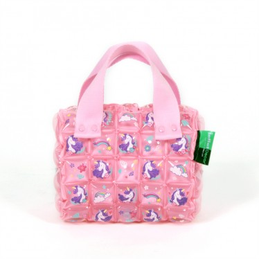 INFLATABLE HAND BAG ROLL MINI UNICORN SWEET