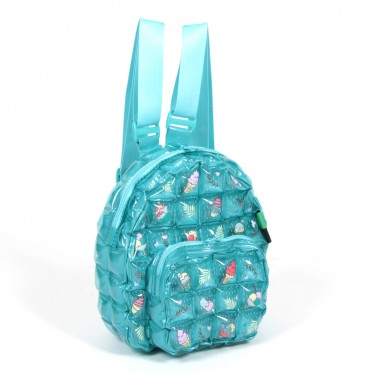 INFLATABLE BACKPACK OVAL SHAPE ICE BLUE