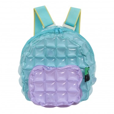 INFLATABLE BACKPACK OVAL SHAPE TWO TONES