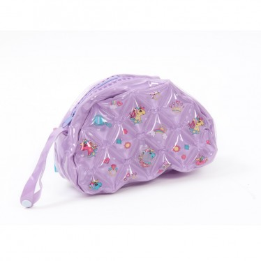 INFLATABLE BEAUTY BAG SEMI ROUND SHAPE UNICORN