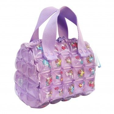 INFLATABLE HAND BAG ROLL MINI UNICORN